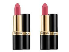 Lot of 2, Sealed Revlon Super Lustrous Lipstick 855 Berry Smoothie!