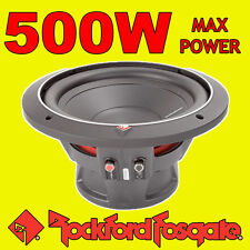 "Rockford Fosgate 10"" 10-inch 500W CAR AUDIO Punch Bass Sub Subwoofer 25cm 4ohm"