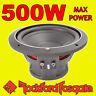 """Rockford Fosgate 10"""" 10-inch 500W CAR AUDIO Punch Bass Sub Subwoofer 25cm 4ohm"""