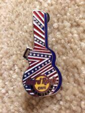 Hard Rock Cafe Pin Las Vegas Stars And Stripes Guitar Case