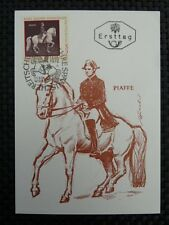 AUSTRIA MK 1972 1396 REITSCHULE MAXIMUMKARTE MAXIMUM CARD MC PFERD HORSE a8532