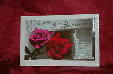Cartolina Postale Inglese - Rose - 1935 To Greet Your Birthday Morn