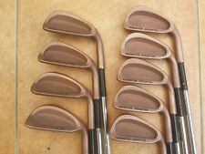 Refurbed Spalding Beryllium Copper irons 3-Si reg steel. PGA Pro seller