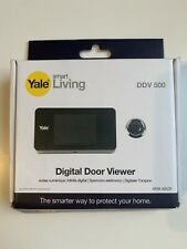 Yale digitaler Türspion YY45 Weiß Digital Door Viewer Smart Home Türschloss Neu