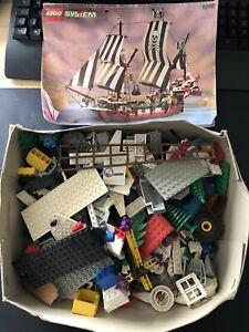 Lego Konvolut Sammlung Große Kiste  Piratenschiff Nasa Spaceshuttle Lego Figuren
