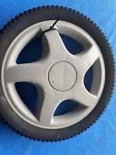 """Craftsman/Ayp 14""""X2"""" Oem Rear Mower Wheel Mag 5-Spoke Gray 150637-A Used"""