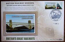2012 Limited Edition Benham  Railway Bridge Cover - Britannia -Menai Straits.