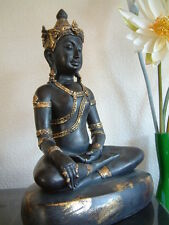 Buddha Statue H 43 cm * Deko-Figur * Meditation * Feng Shui * Zen * NEU