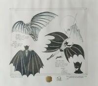 Da Vinci Batman Artist Proof signed by Bob Kane Limited Edition Rare