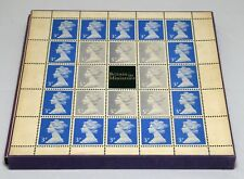 Great Britain In Miniature Stamp Postage Collection Album UK LONDON 1972 MINT LH