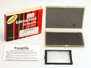 Intenscreen Plus by beattie ??? Einstellscheibe für die RZ67