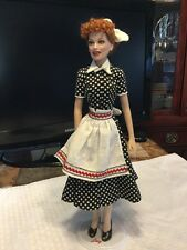 I Love Lucy Lucille Ball Vinyl Portrait Doll By Franklin Mint