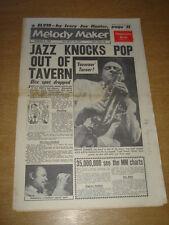MELODY MAKER 1961 DECEMBER 9 TRAD TAVERN ELVIS PRESLEY HUMPHREY LYTTELTON +