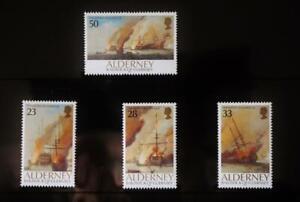 """Alderney Stamps: """"The Battle of La Hogue"""" - Presentation Pack 1992"""