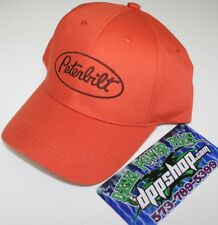 508d2e2ce2c Peterbilt youth kids young base ball cap trucker hat orange gear cumming new