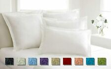 2pc Pillow Shams All Solid Colors & Sizes 800 TC 100% Egyptian Cotton FREE SHIP