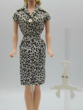 Barbie Midge straight skirt shirt outfit Pak Mint Blouse black & white floral
