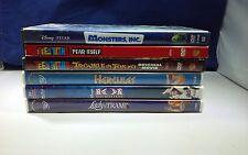 6 DVD Movie Lot Disney Cartoon Children Toons