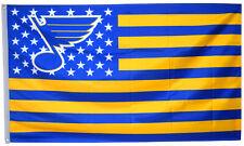 St.Louis Blues US  Stars&stripes Nation Flag Banner 3X5 Feet man cave