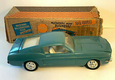 1967 Ford Mustang Fastback Wen Mac Toy Car AMF Original Box   #6