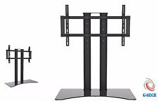 37-65 INCHES BLACK GLASS TV STAND TV BRACKET TV UNIT LCD PLASMA LED WITH SHELVES