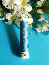 950B Beautiful Coil Pure Wire Silk Drawstring Gutermann Light Blue N° 197