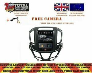 VAUXHALL OPEL INSIGNIA 2014+ TESLA NAVI ANDROID 10.0 CARPLAY TTV1983 UK DISPATCH