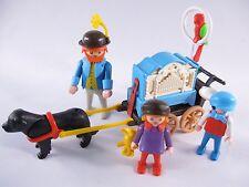 PLAYMOBIL VINTAGE 5550 ORGAN GRINDER CHILD VICTORIAN MANSION-COMPLETE-EXCELLENT