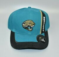 Jacksonville Jaguars Logo Athletic Vintage Helmet Brim Strapback Cap Hat - NWT