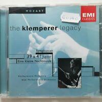 Mozart: Symphonies Nos. 39 & 41 'Jupiter' etc. / Klemperer / EMI CD 5 67334 2
