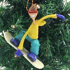 One Cool Snowboarder Ornament Hallmark Keepsake 2002 Shredder Snow Sport