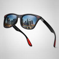 FUQIAN Polarisierte Sonnenbrille Herren Damen Retro Polarized Sunglasses
