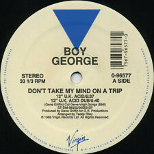 BOY GEORGE Don't Take My Mind On A Trip (1989 U.S. 5 Track 12inch)