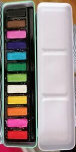 Wasserfarben Kasten 12 Farben