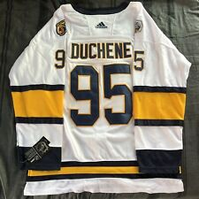 Matt Duchene 2020 Winter Classic Nashville Predators Jersey Size 54 Adult XL New