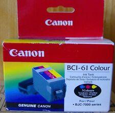 original Canon BCI-61 BCI-61C 968A008 Tintenpatrone schwarz BJC-7000 A-Ware