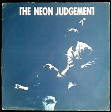 The Neon Judgement ‎– Tomorrow In The Papers - Spain Maxi Single Ginger 1986 12""