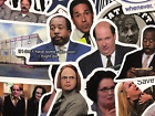 20 The Office Show Stickers Dwight Oscar Kevin Stanley Michael Creed and More