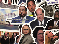20 The Office Show Stickers Dwight Oscar Kevin Stanley Michael Creed and More!