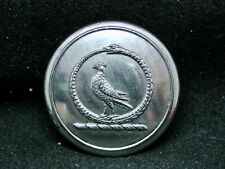Within A Serpent In Orle, A Dove ~ Walker Family 26mm Gilt Livery Button c1835