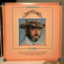 "DON WILLIAMS - The Best Of Volume III (MCA-5465) - 12"" Vinyl Record LP - EX"