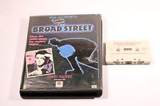 RARE ZX Spectrum 48K  BROAD STREET BY MIND GAME 1985 +MANUAL