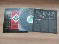 MANOWAR - Sign Of The Hammer 7 Tracks 1985 Korea Orig LP Insert NM