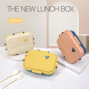 Cheese Lunch Box Portable Healthy Bento Food Container Kitchen Children School