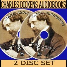 OLIVER HARD TIMES HUNTED DOWN  CLASSIC CHARLES DICKENS 30+ MP3 AUDIOBOOK PC DVDS