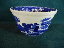 "Spode Blue Tower New Mark 4 1/4"" Open Sugar Bowl"