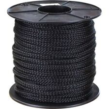 """7//16/""""x 200 ft Made in USA Hollow //Flat Braid Nylon Rope Hank.Discounted"""