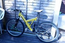Cannondale super V mountain bike (With Yellow frame)