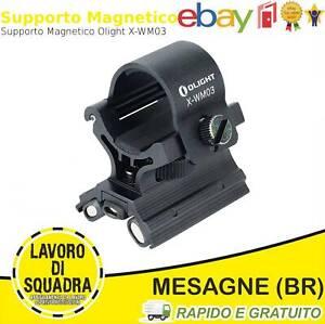OLIGHT X-WM03 Supporto magnetico per 23-26mm con doppio magnete torce