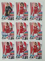 2020/21 Match Attax UEFA Champions League - Arsenal team set (9 cards)